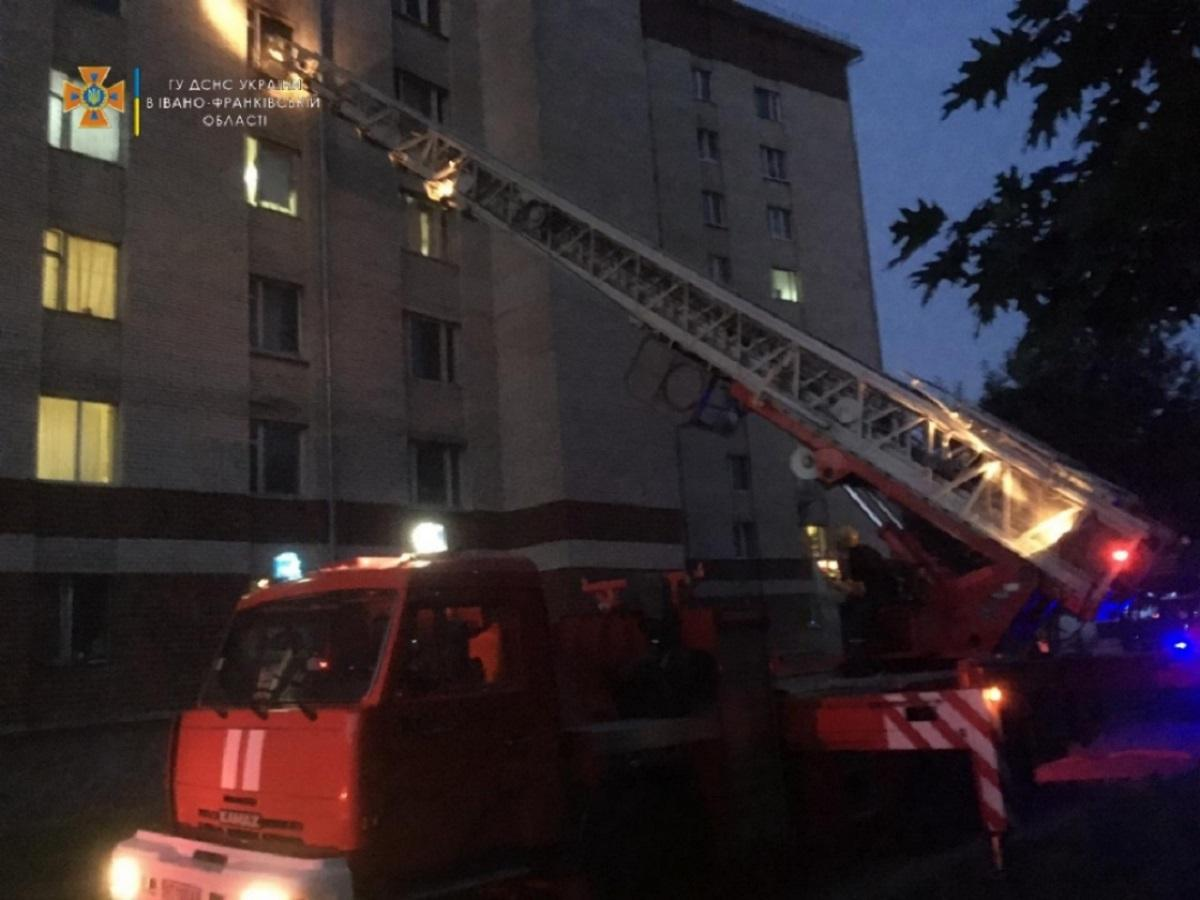 Причина виникнення пожежі встановлюється / dsns.gov.ua