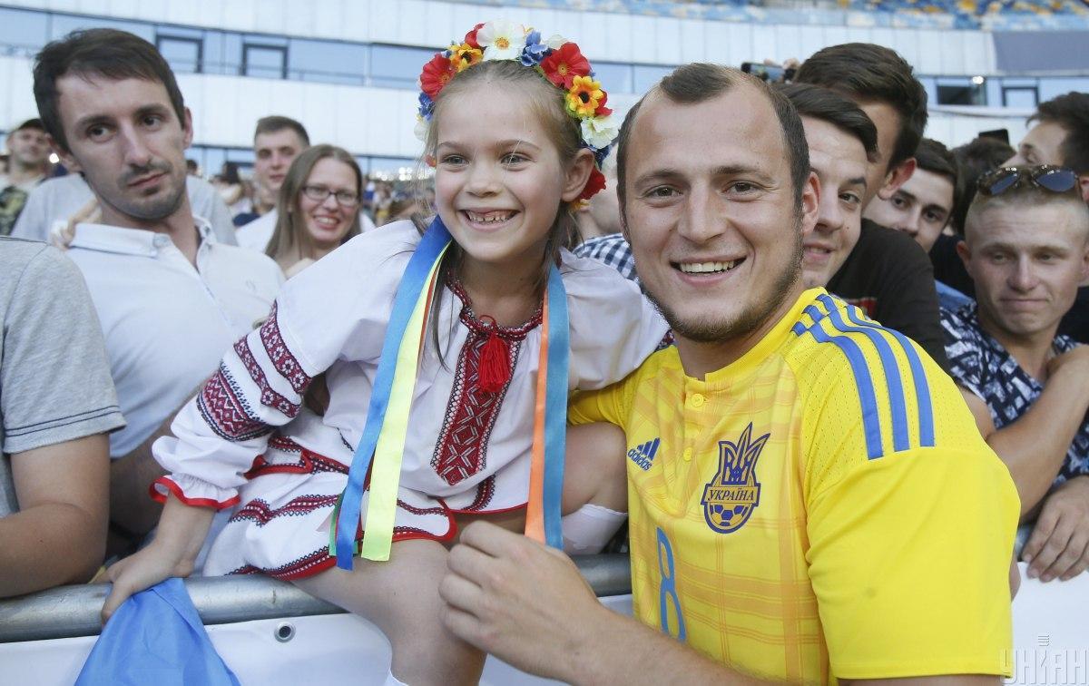 Роман Зозуля был любимцем публики в Украине / фото УНИАН