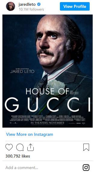Как будет выглядеть Джаред лето в новом фильме / instagram/jaredleto