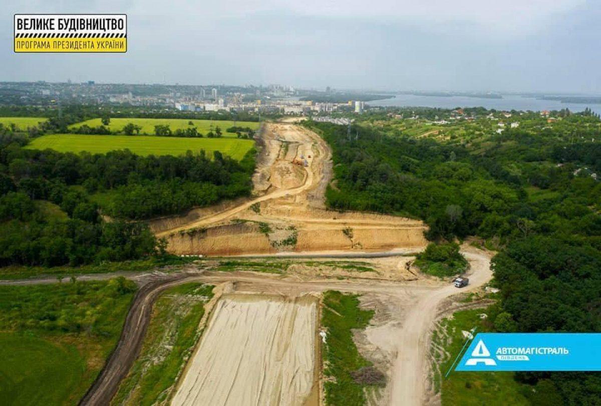 Автомагистраль-Юг перешла к важному этапу во время Большой стройки Южного обхода Днепра