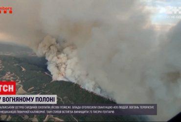 В Іспанії горять ліса - полум'я охопило кілька регіонів