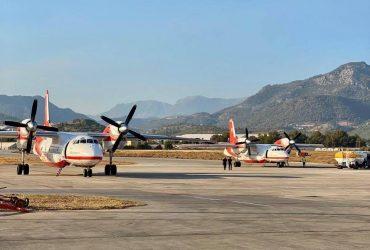 Украинские самолеты начали тушить лесные пожары в Турции