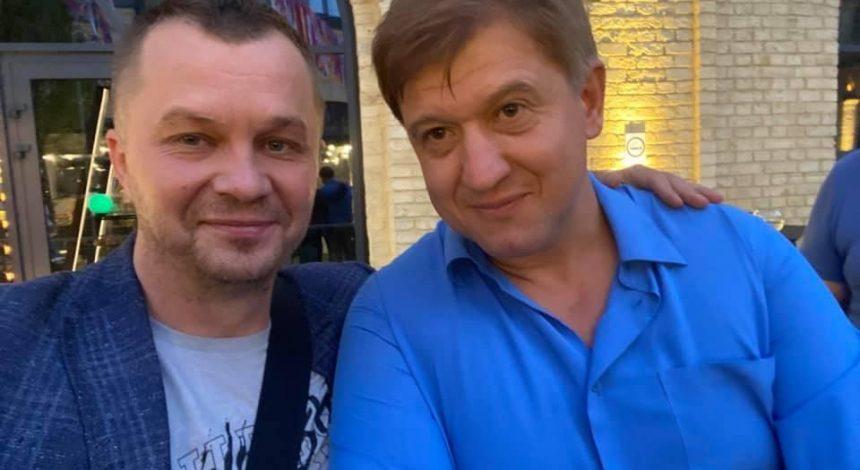 """Данилюк на своем дне рождения ударил Милованова в лицо: тот назвал его """"неадекватным"""" (фото)"""