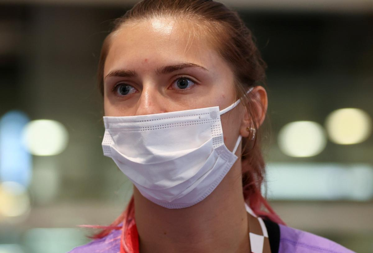 Кристину Тимановскую хотят депортировать / фото REUTERS