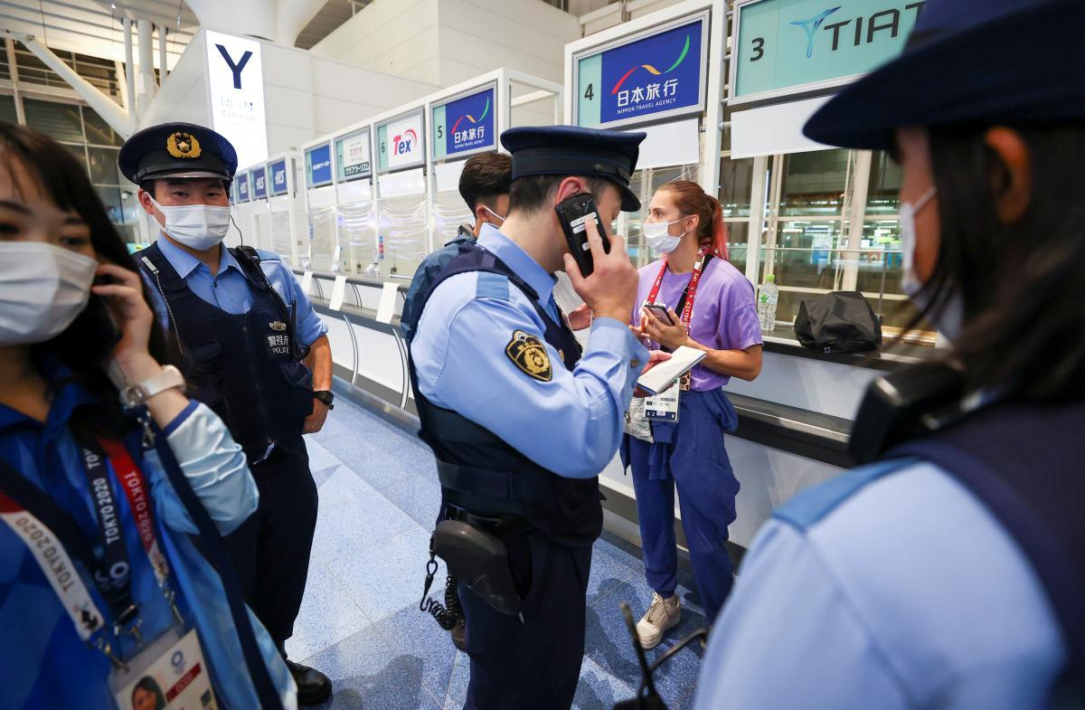 Кристина Тимановская готовится к выезду в Польшу / фото REUTERS