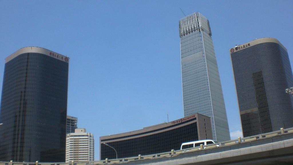 У Китаї загорілася Сіаньська вежа міжнародної торгівлі / фото flickr.com