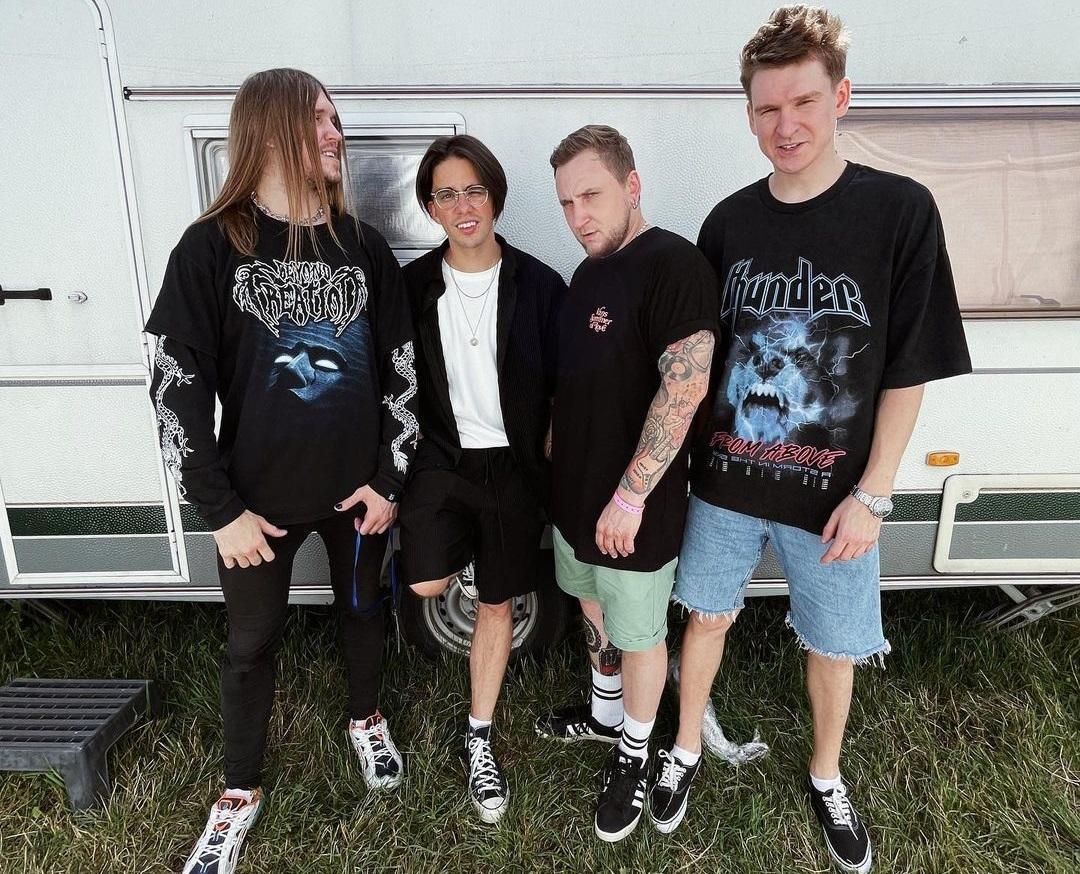 Рок-гурт ділився приємними враженнями від виступу у Тернополі / фото - instagram.com/wildwaysofficial