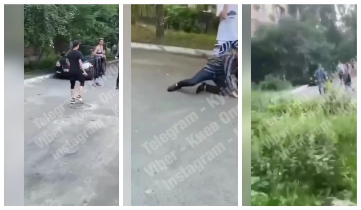 Что стало причиной такого поведения - не уточняется / Киев оперативный, коллаж УНИАН