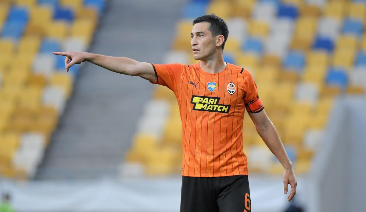 Тарас Степаненко - капітан Шахтаря / фото ФК Шахтар