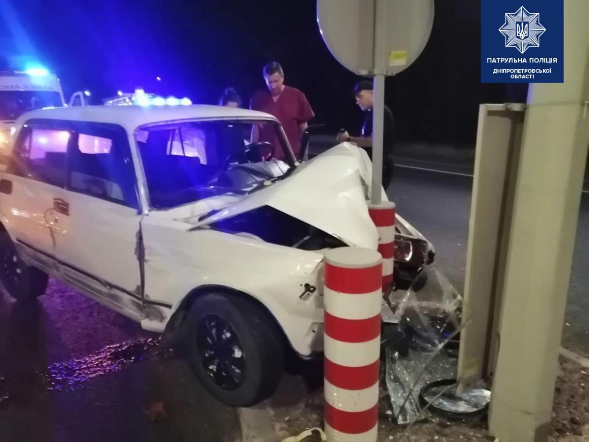 Водитель другой машины не пострадал / фото Патрульная полиция