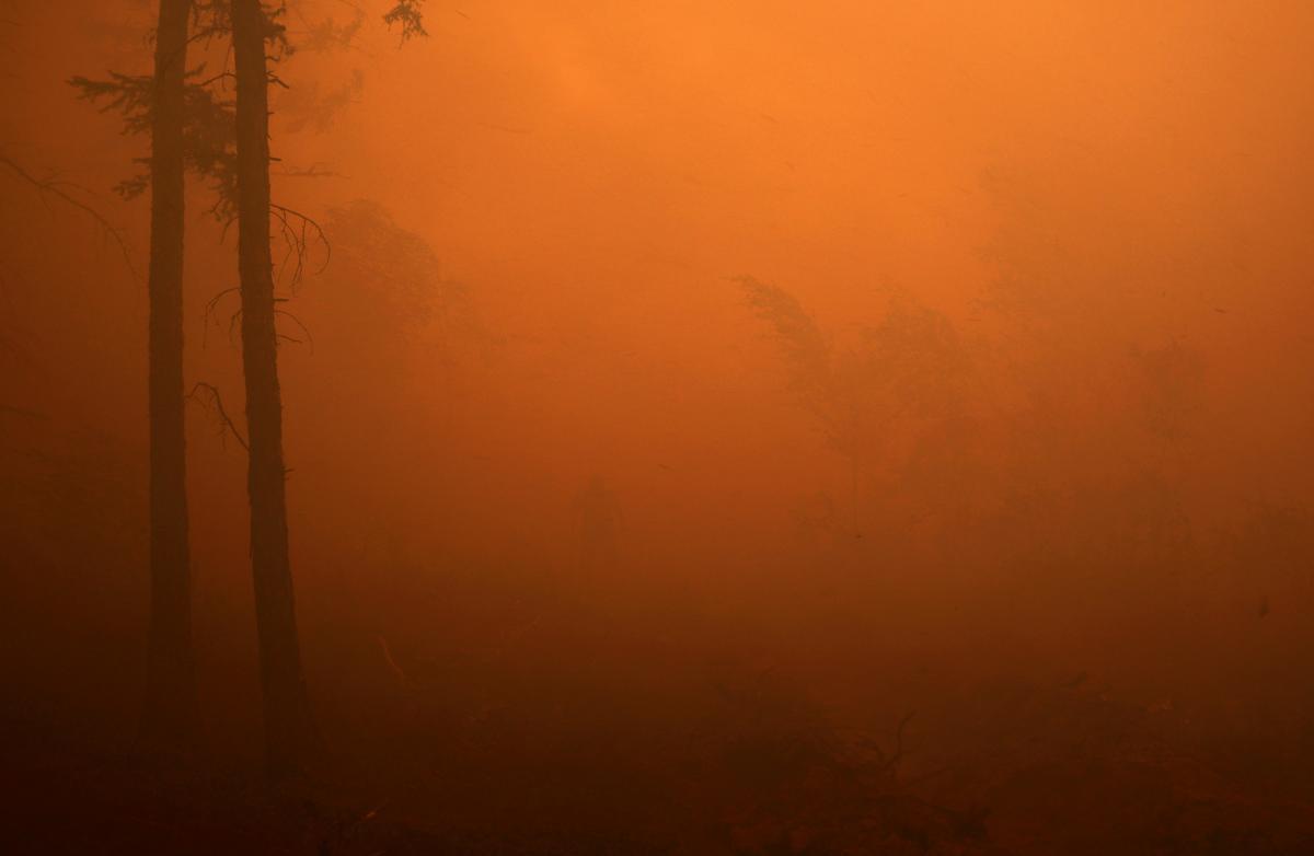 В Якутии бушуют лесные пожары / фото REUTERS