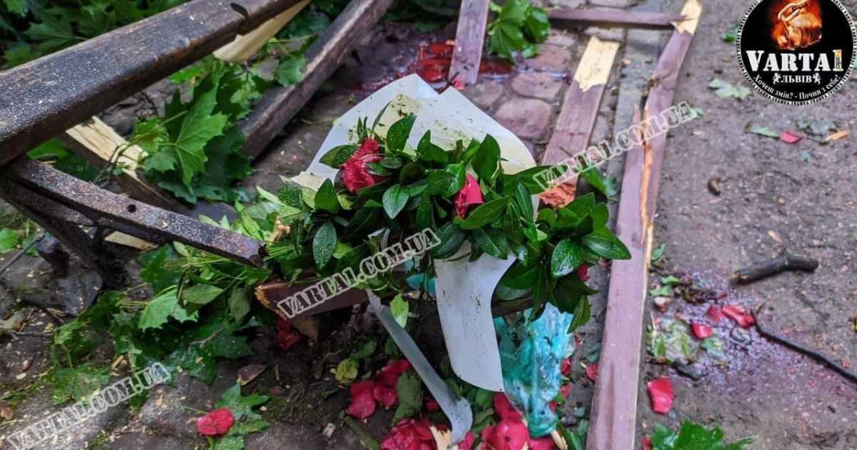 Молода пара загинула у львівському парку на побаченні через буревій/ фото Варта 1