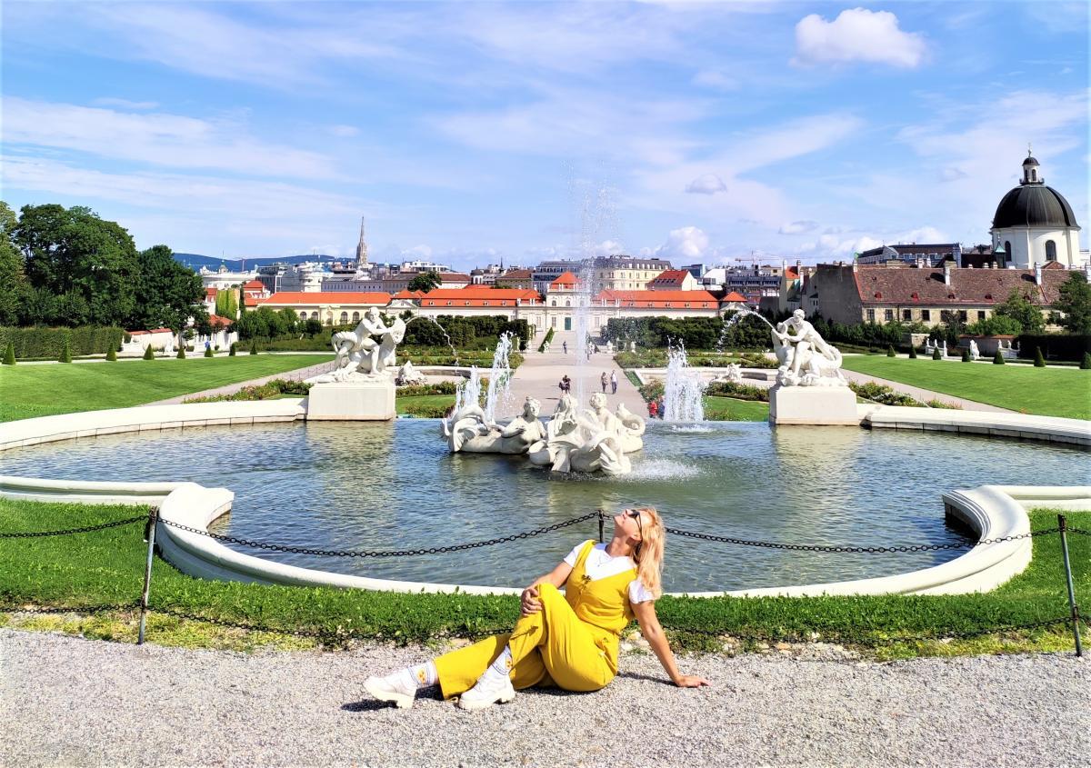 Зараз навіть у Бельведері немає натовпів туристів / фото Марина Григоренко