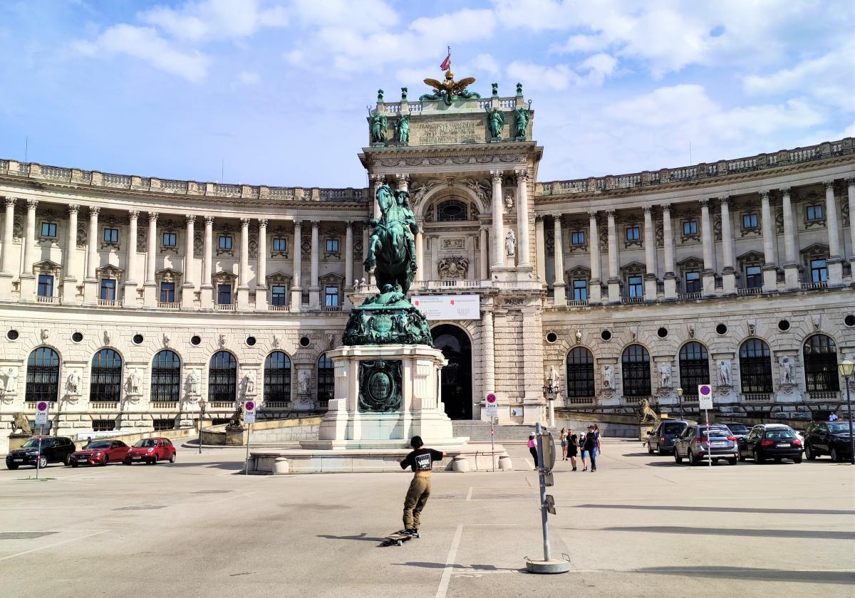Навіть на найпопулярніших локаціях Відня зараз мало людей / фото Марина Григоренко
