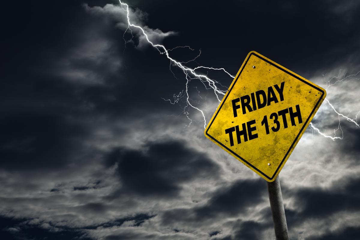Пятница 13 - неблагоприятный день / depositphotos.com