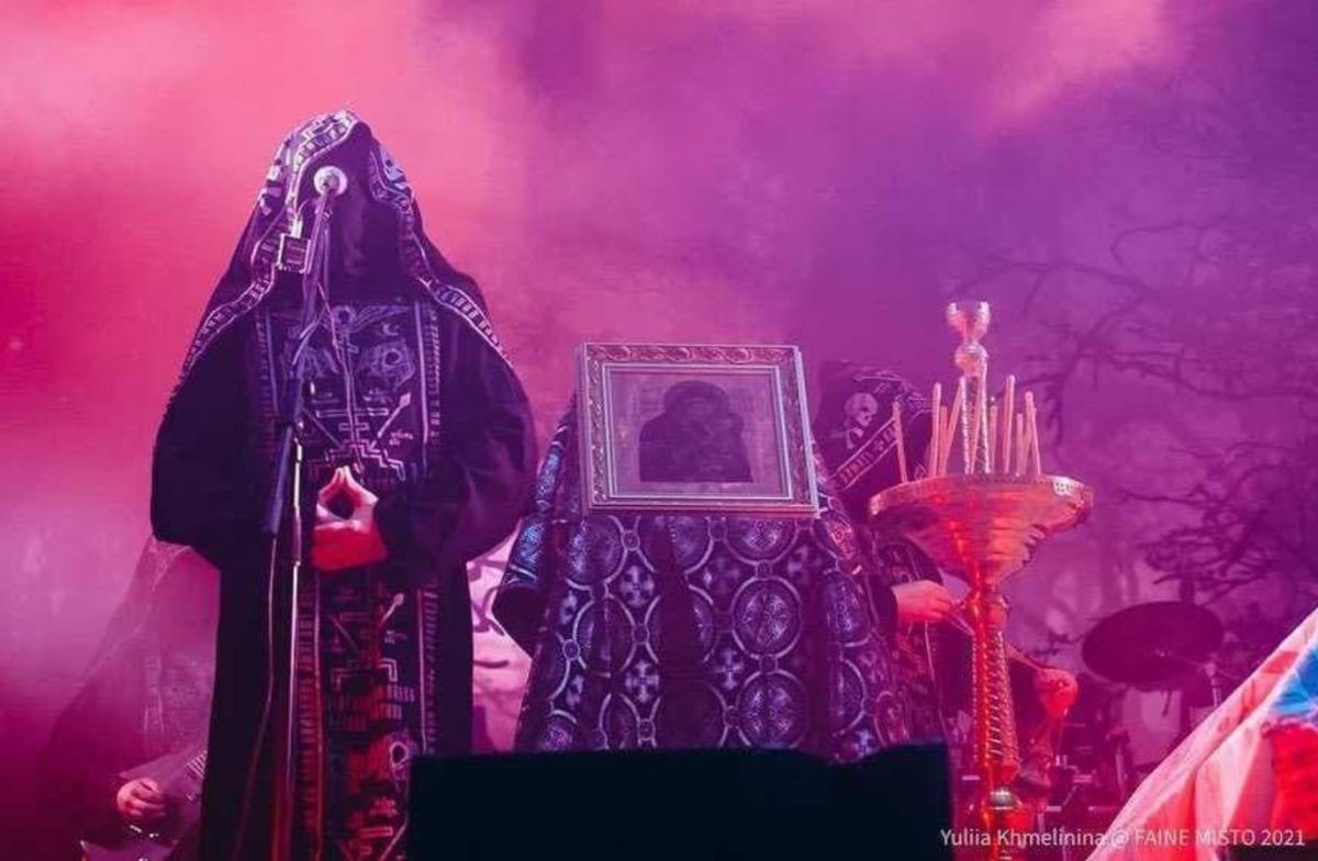 """Выступление группы Batushka на фестивале """"Файне місто"""" / фото Юлия Хмелинина"""