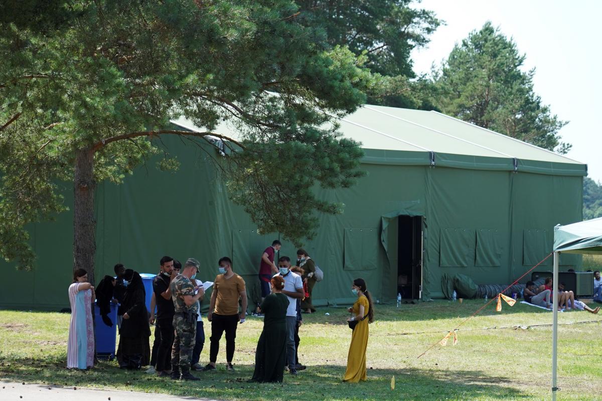 Из-за наплыва нелегальных мигрантов из Беларуси правительство Литвы объявило экстремальную ситуацию/ фото REUTERS