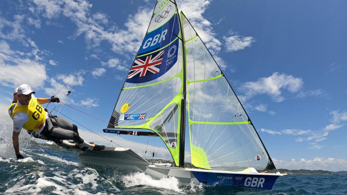 Британский тандем завоевал золотые медали в дисциплине парусный спорт / фото REUTERS