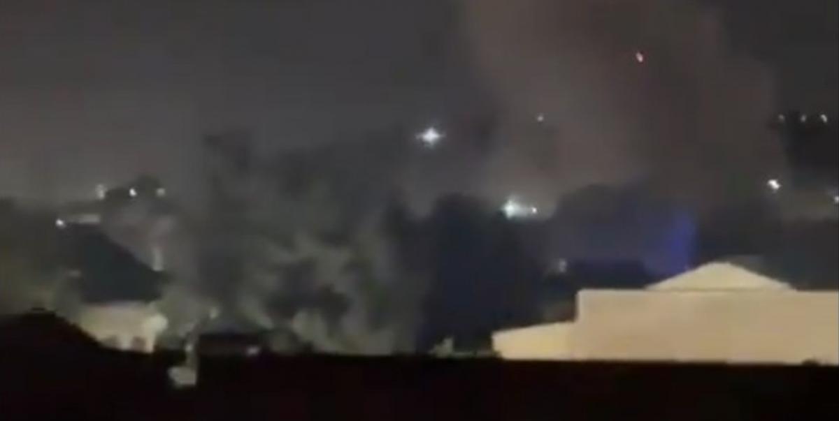 На данный момент известно о шести раненых / скриншот из видео