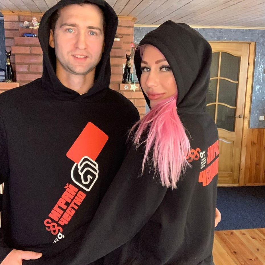 Андрей Кравченко и Яна Максимова / фото instagram.com/_maksimava_yana