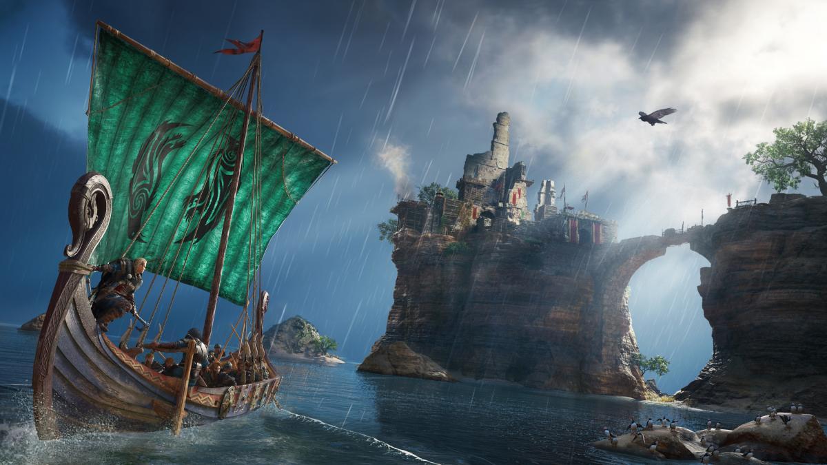 Assassin's Creed Valhalla отримала знижку в 43% / фото Ubisoft