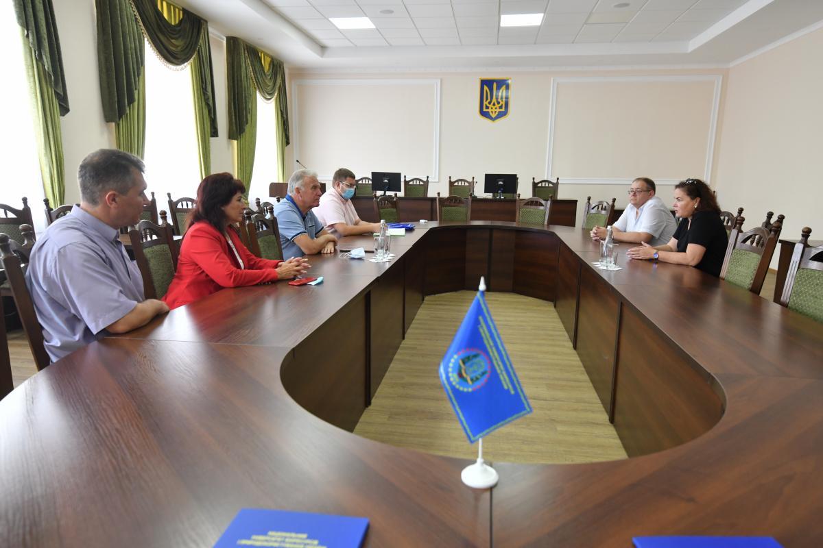 За результатами зустрічі було підписано договір про співпрацю