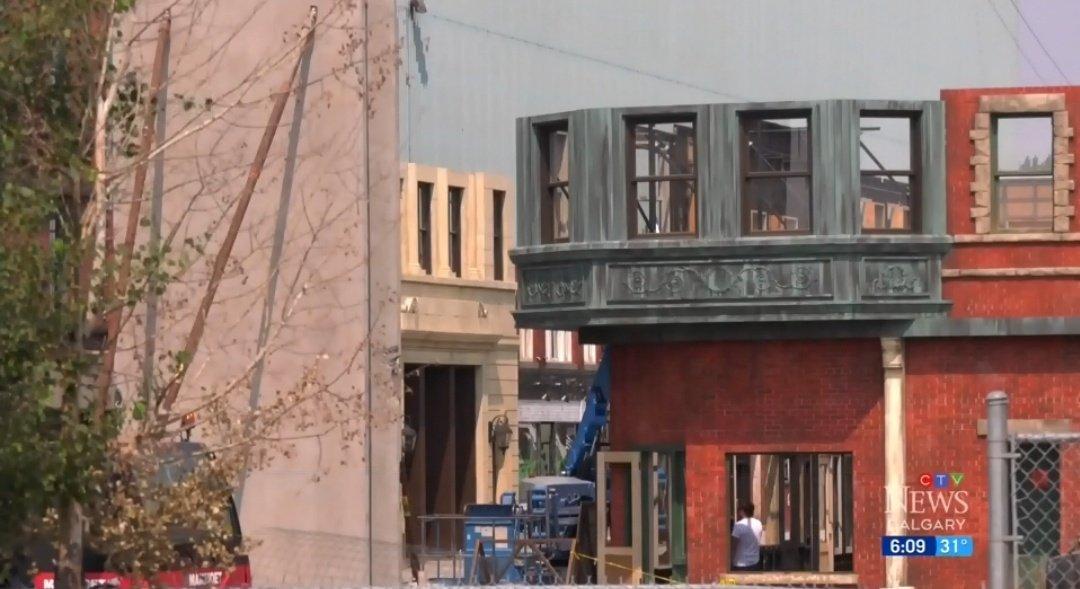 Знімальна група перетворила Калгарі на Бостон / фото CTV News