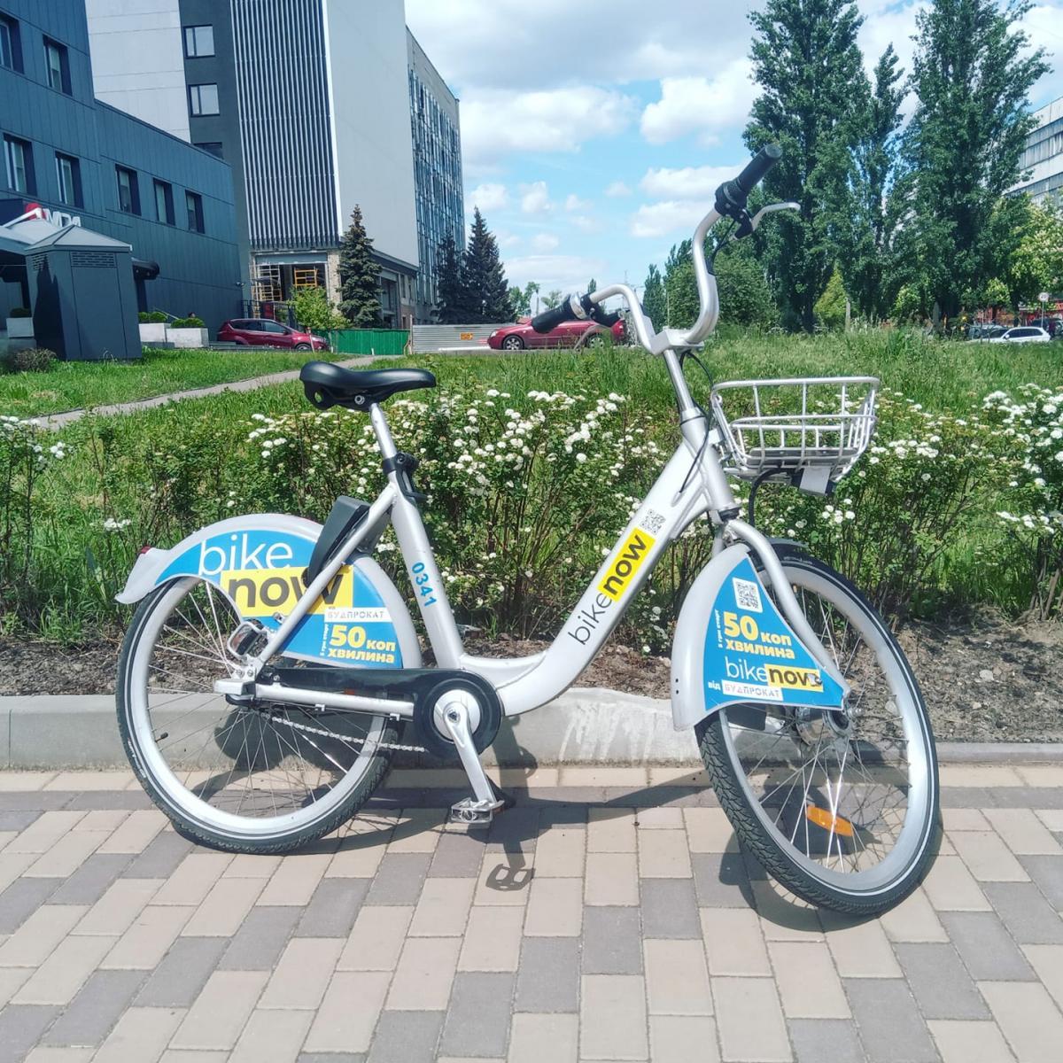Троєщина залишилася без прокатних велосипедів BikeNow / BikeNow