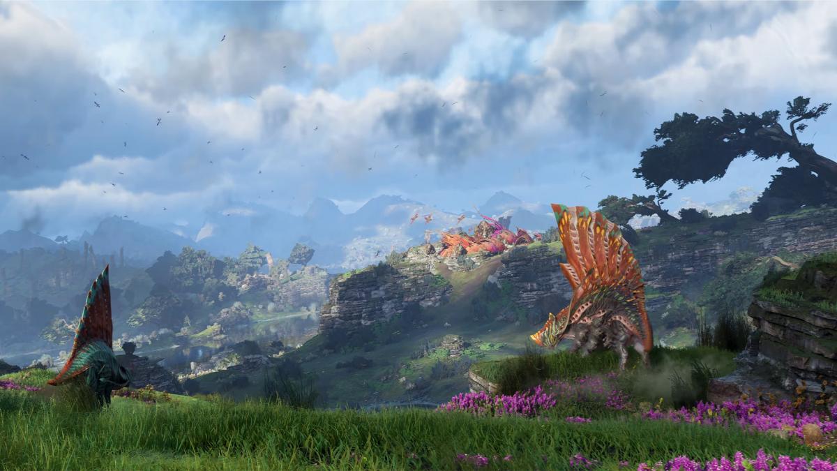 Графика в Avatar Frontiers of Pandora поражает, но об остальном пока говорить рано / фото Ubisoft