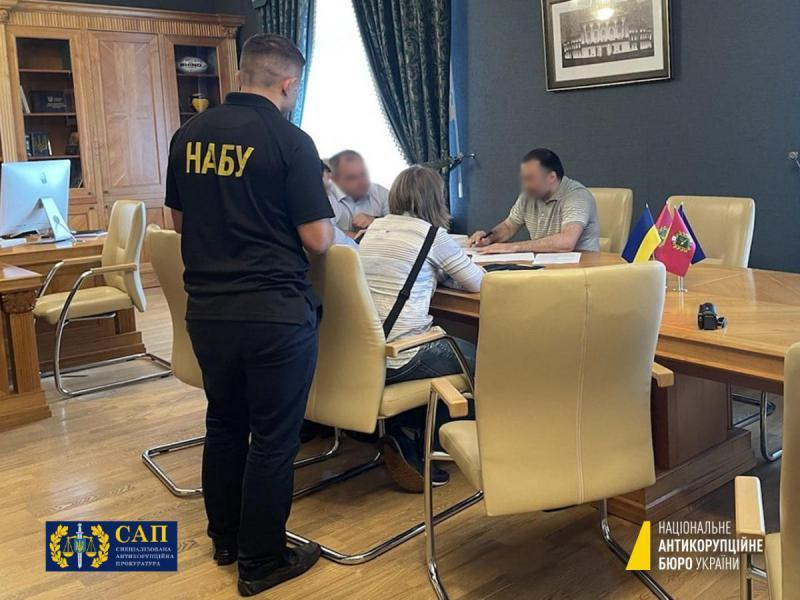 Tovmasyan's deputy is already in custody / NABU photo