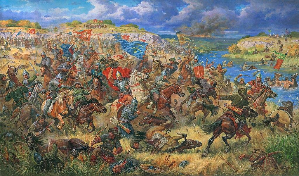 Битва на Синих Водах / ru.wikipedia.org/Orlenov