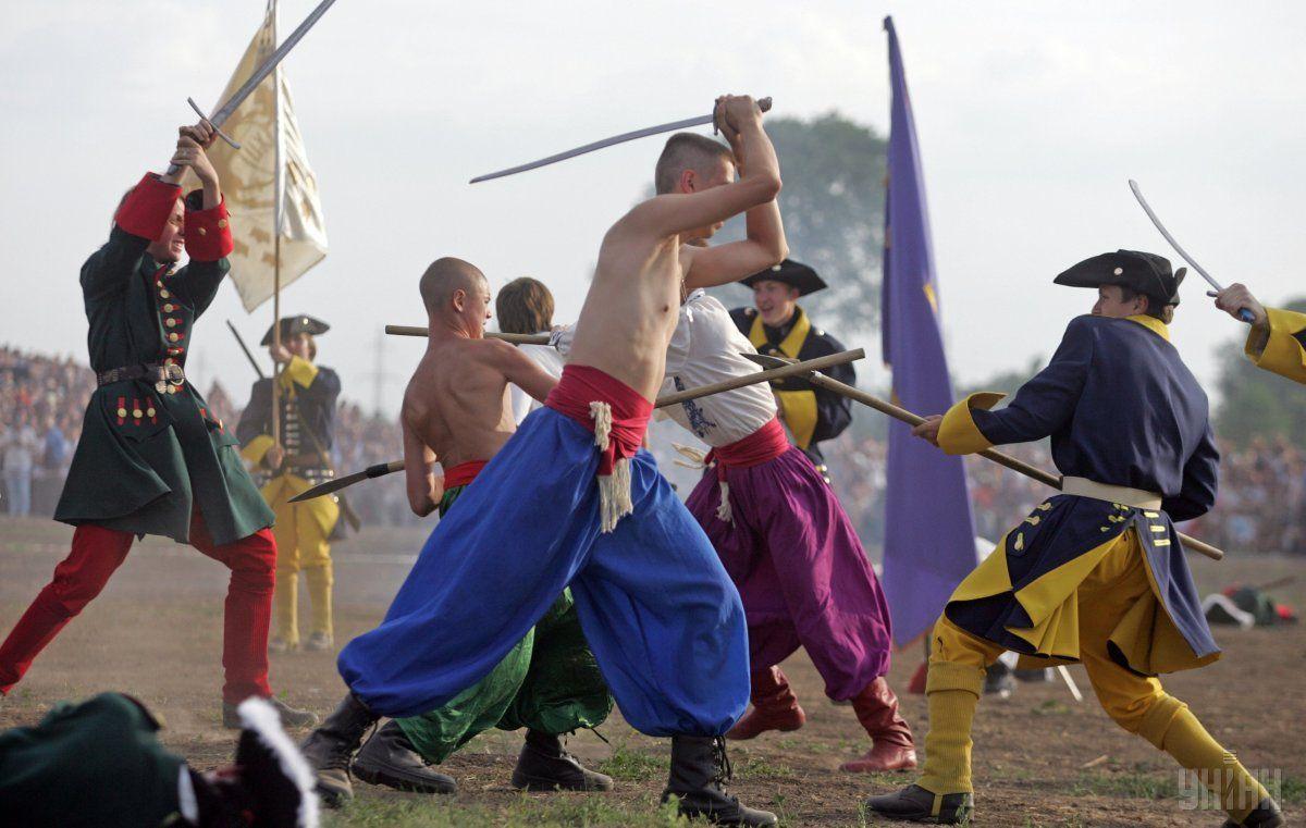 В ходе Полтавской битвы армия шведов была обескровлена / УНИАН