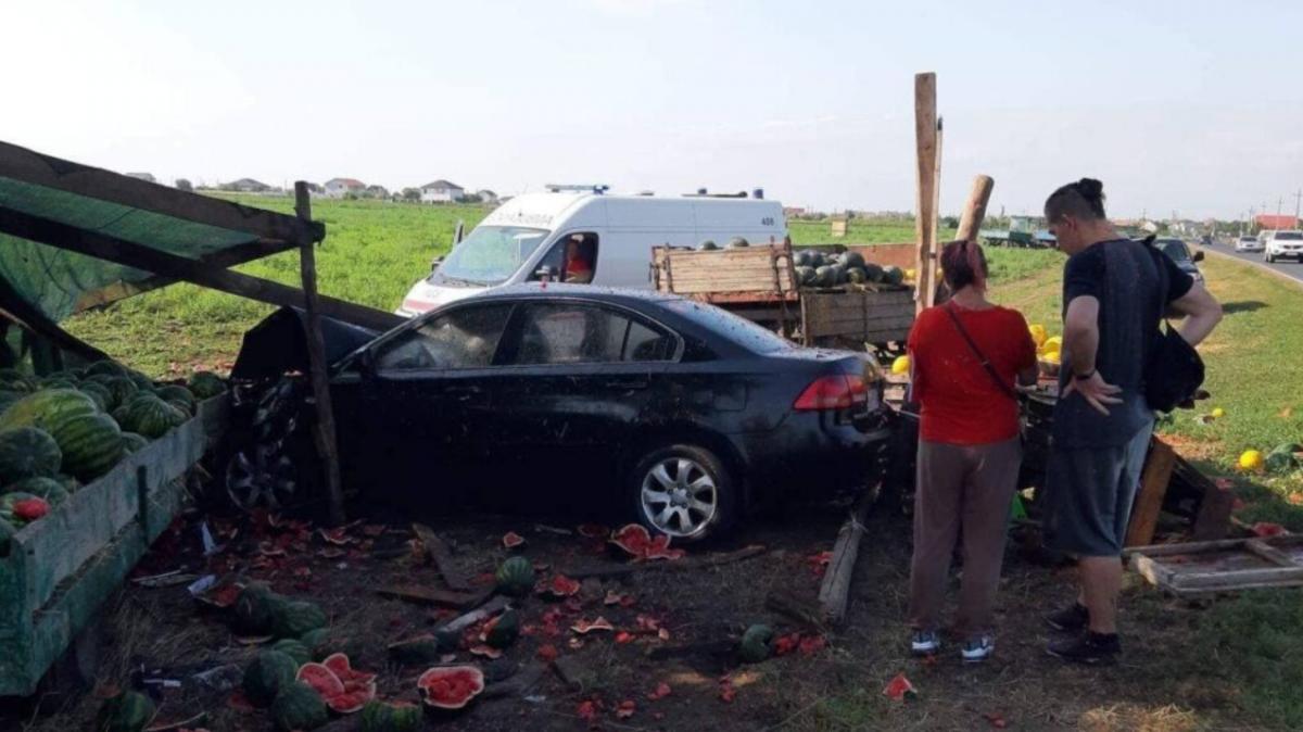 Обстоятельства ДТП проверяет полиция / фото http://kratkoinfo.com.ua/