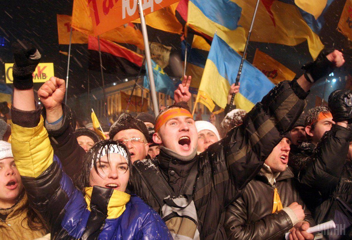 Первая ночь Оранжевой революции была психологическим сражением / УНИАН