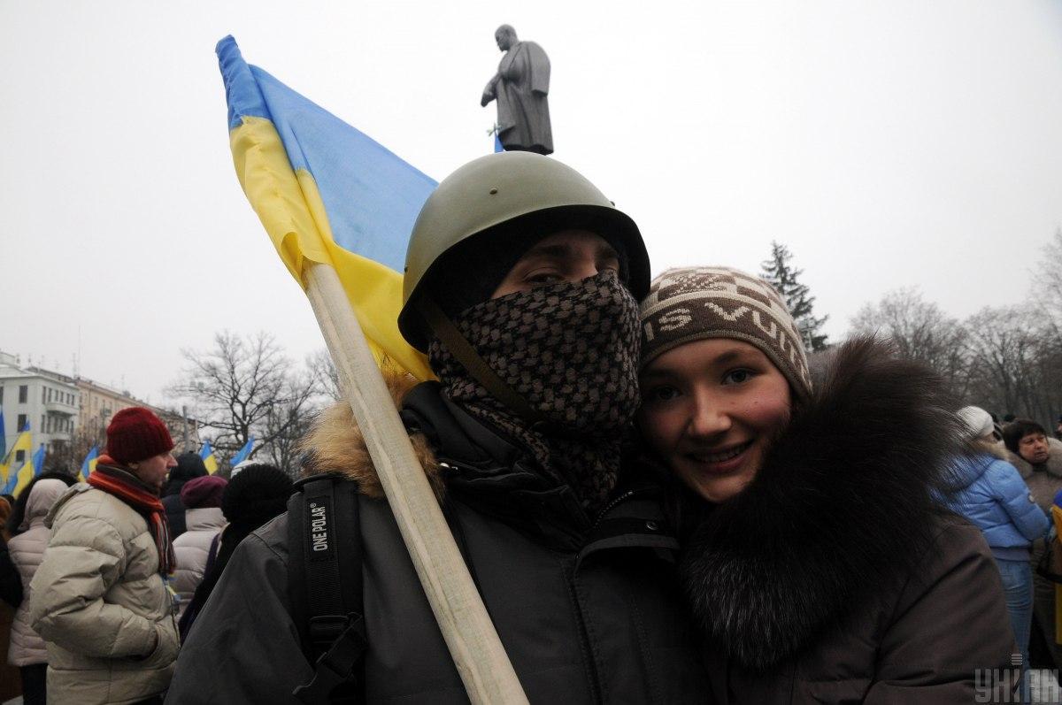 Активисты Евромайдана / УНИАН