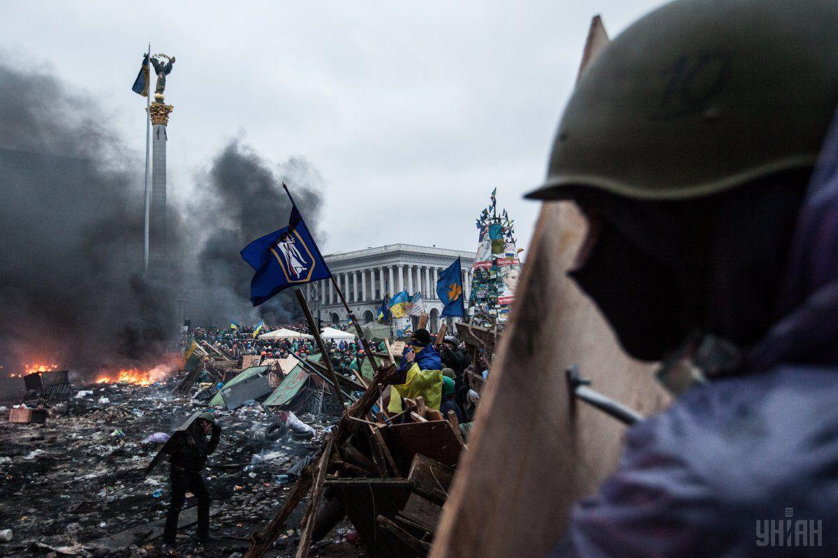 Активистов Евромайдана расстреляли 20 февраля 2014 года / УНИАН