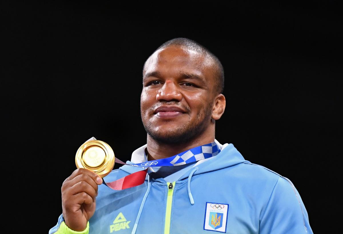 Жан Беленюк здобув золото на Олімпіаді / фото REUTERS