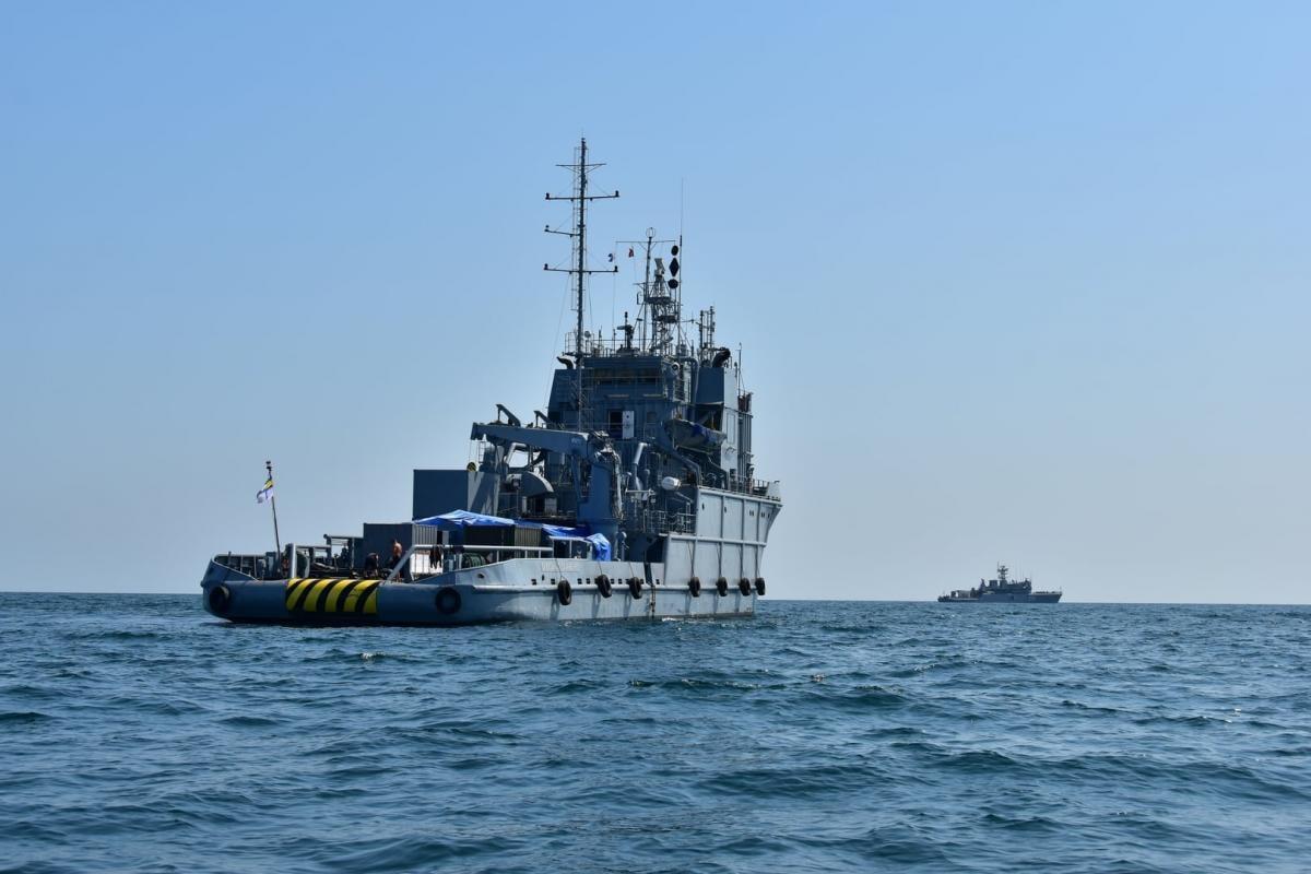 В Чорномі морі стартували навчання військових водолазів / ВМС ЗС України