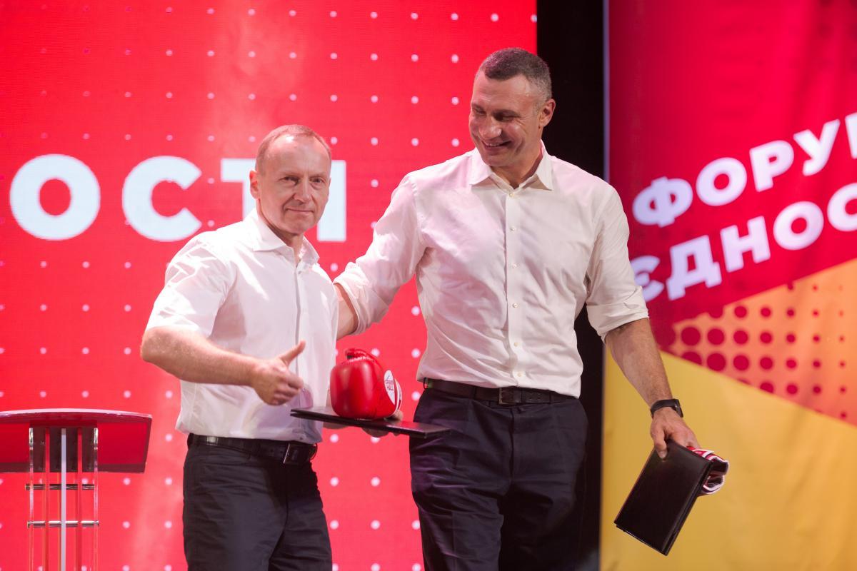 Владислав Атрошенко и Виталий Кличко