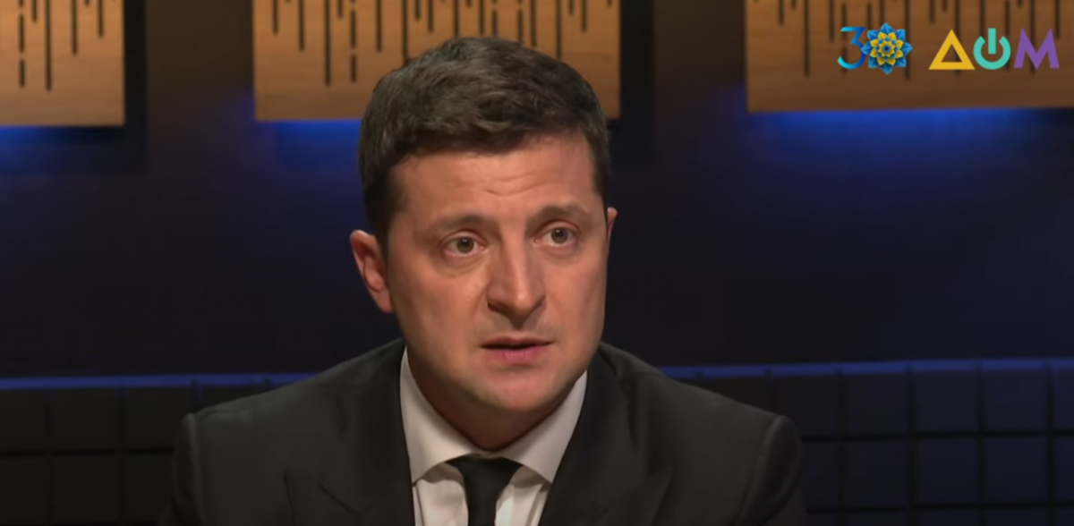 Зеленський розповів про поїздку до Донецька в 2014-му / скріншот