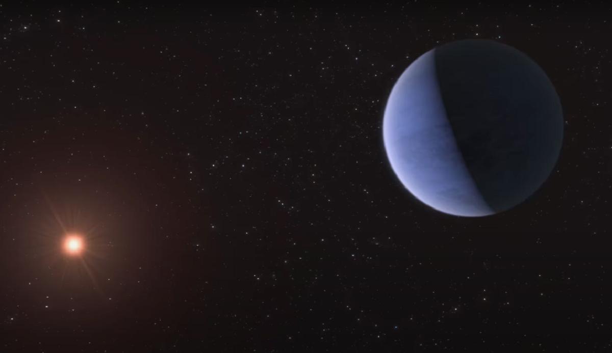 Науковці знайшли планету, 30% маси якої, ймовірно, становить вода / фото eso.org