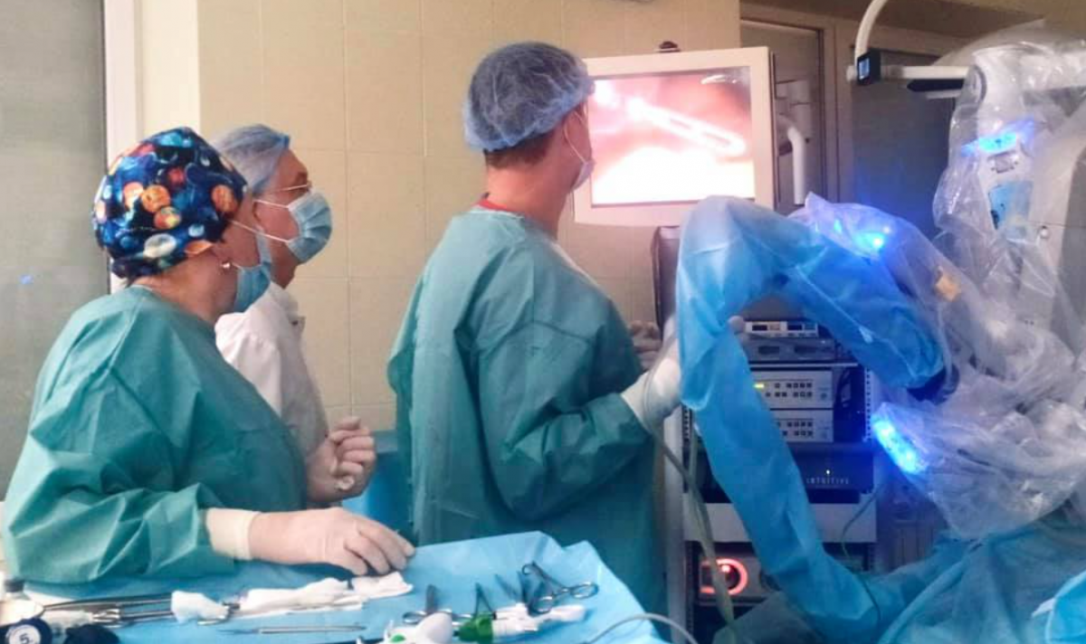 Операция прошла успешно / фото Клиническая больница скорой медицинской помощи Львова