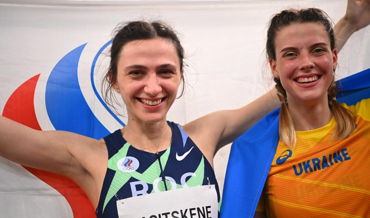 Марія Ласіцкене та Ярослава Магучіх / фото REUTERS