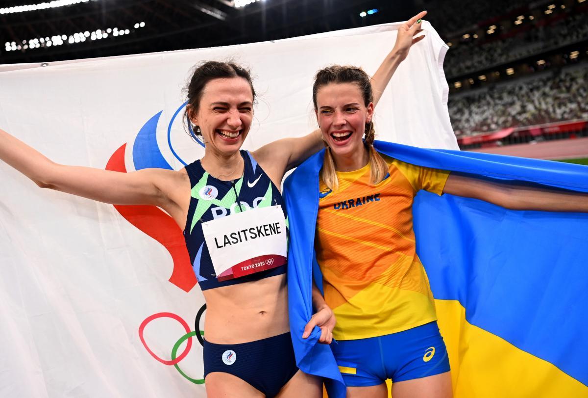 Легкоатлетка та стрибунка з України сфотографувалися з росіянкою у Швейцарії / фото - REUTERS