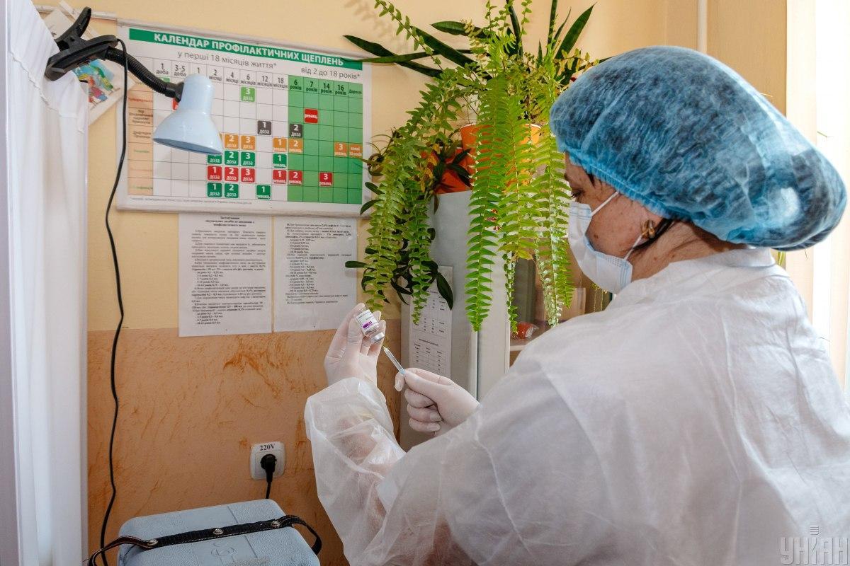Всего в Украине сделано 9 510 965 прививок \ фото УНИАН