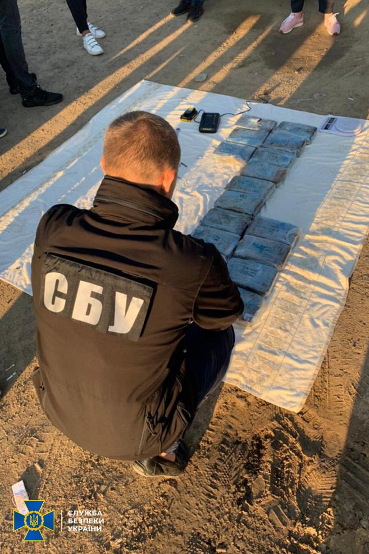 Задержание итальянской мафии в Одессе / фото СБУ