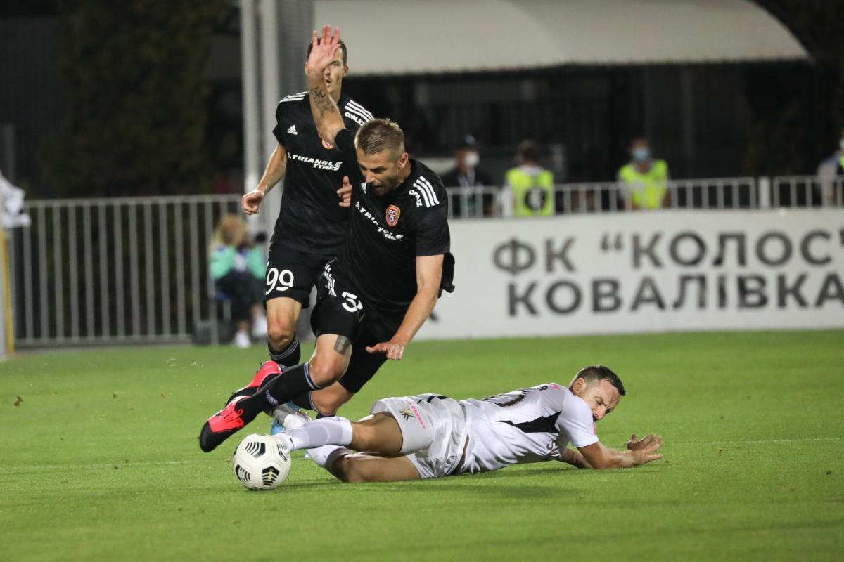 Колос - Шахтер Караганда / фото ФК Колос