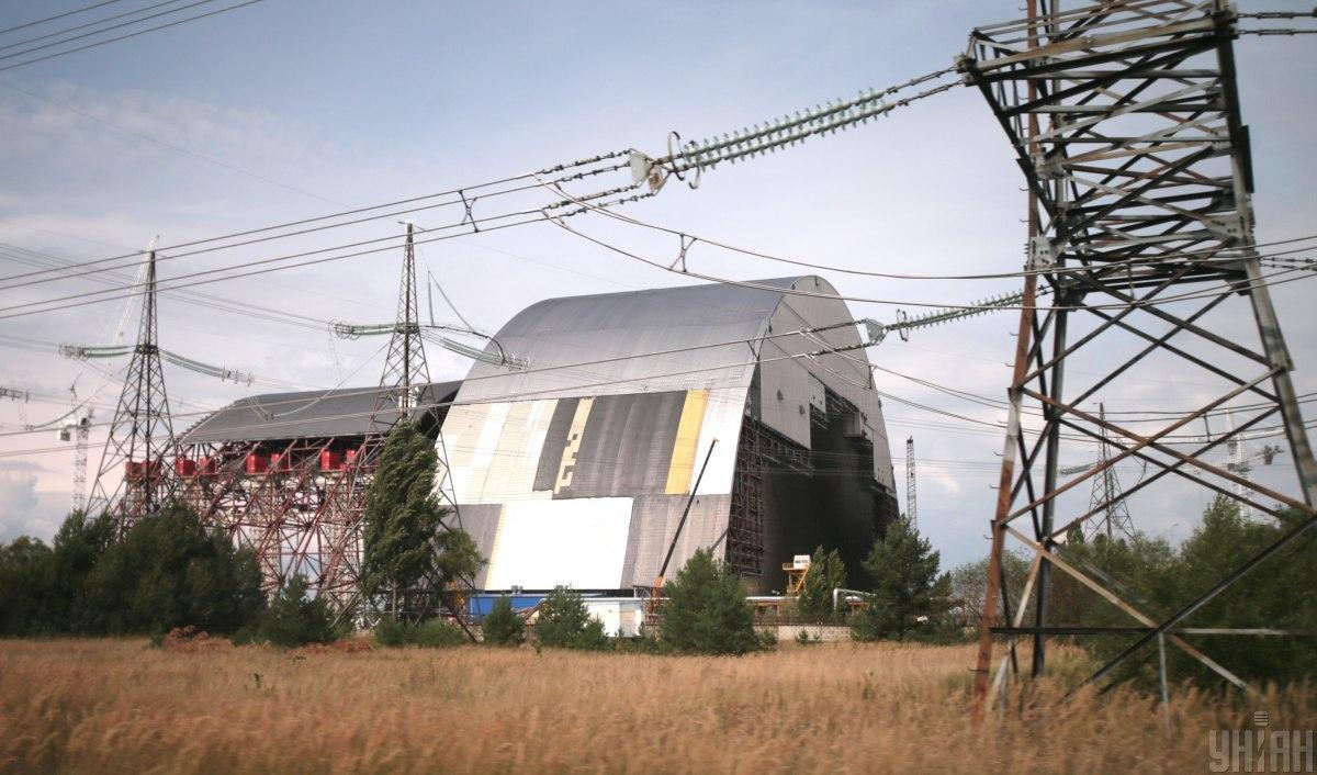 """""""Укриття"""" над ЧАЕС / фото УНІАН, Олександр Синиця"""