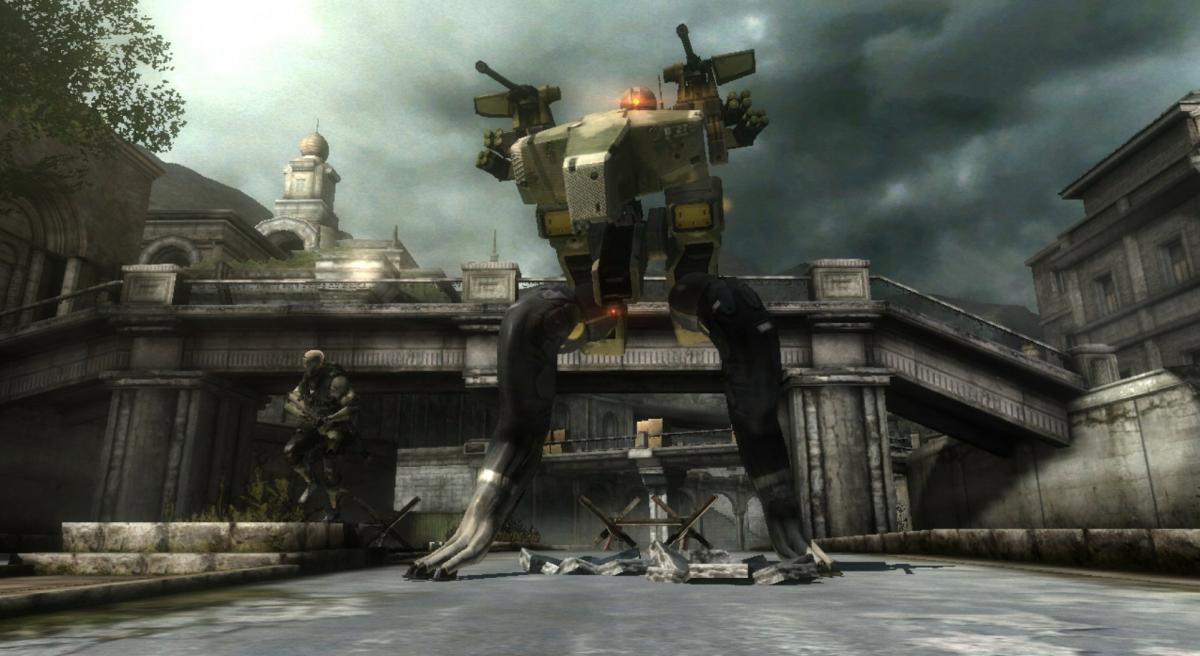 Робот «ГРАД» в Metal Gear Rising Revengeance /скриншот