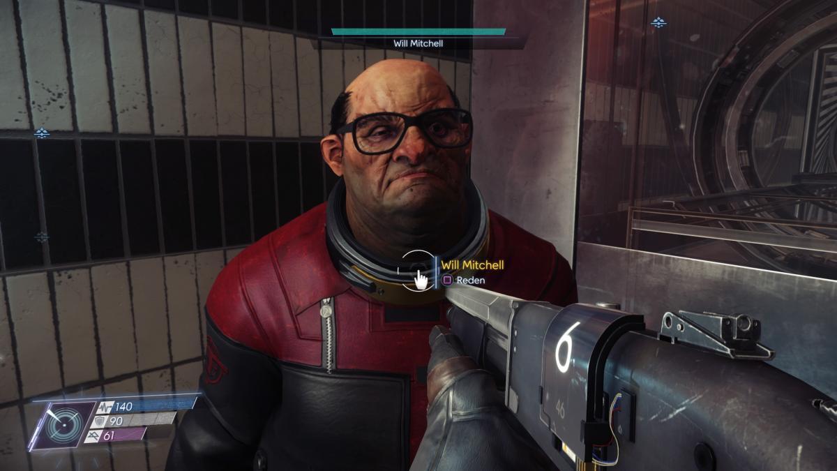 Лука Голубкин, который скрывается под именем Уилла Митчелла из Prey / скриншот